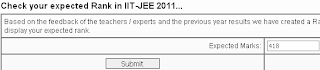ALLEN IIT JEE Rank Predictor