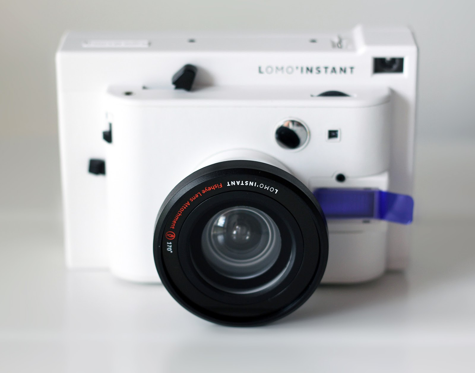 Being Erin Lomoinstant Instant Photography Size Comparison Lomography Camera Sanremo Edition With Fisheye Lens Attachment Colour Gel Filter