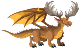 imagen del dragon alce adulto