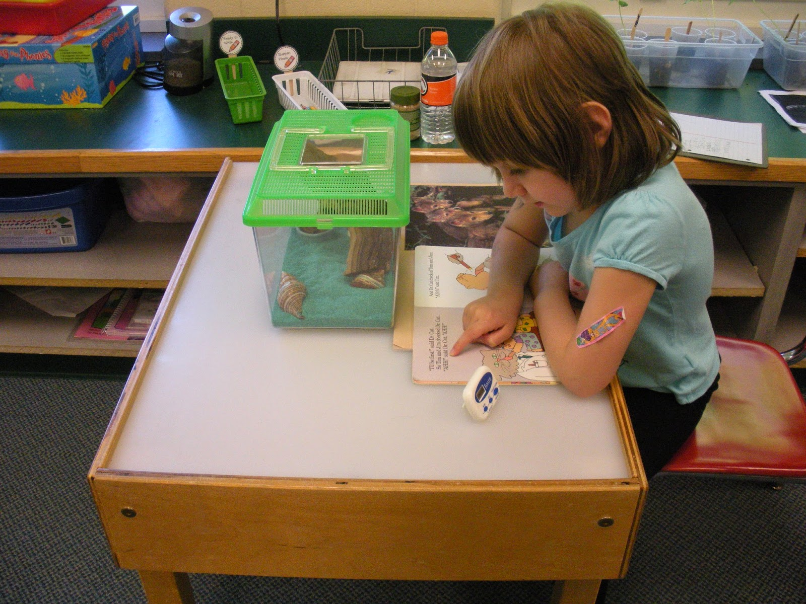 kindergarten mrs andres they are working on sustaining reading for longer periods of time and working independently to