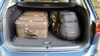 2015 Volkswagen SportWagen TDI SE cargo area