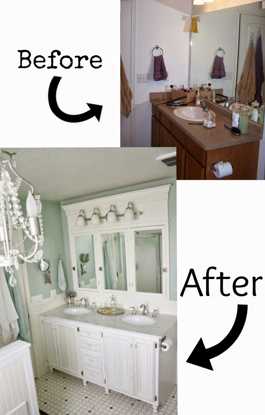Diy Bathroom Renovation Uk pneumatic addict : 7 best diy bathroom vanity makeovers