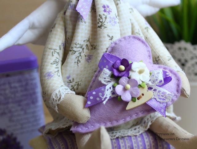 Лаванда, лавандовая принцесса, Принцесса на горошине, принцесса, принцесса тильда, кукла тильда, тильда, тильда принцесса, фея, ангел, тильда фея, тильда ангел, заказать куклу, кукла ручной работы, авторская кукла, текстильная кукла, мастер класс, шьем тильду, шебби шик, шебби-шик, шебби стиль, нежность, розовый, с сердечком