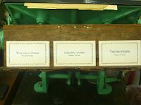 欧文活字の名刺組版例