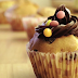 Delicious and Fluffy Muffins Filled Smarties or Chocolate Chips