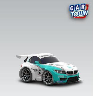 BMW Z4 GT3 2011 Petronas