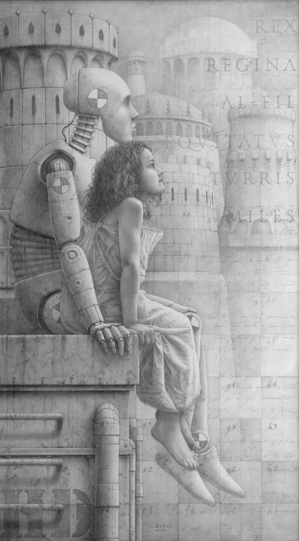 Humpty-Dumpty-Sat-On-The-Wall-grafito-sobre-madera-imprimada-73x130-cm