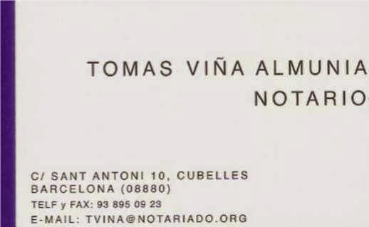 NOTARIO CUBELLES