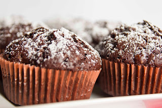 Vegan chocolat muffins