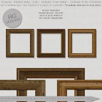 http://cesstrelle.wordpress.com/2014/09/05/freebie-wood-frames/