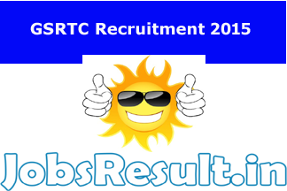 GSRTC Recruitment 2015