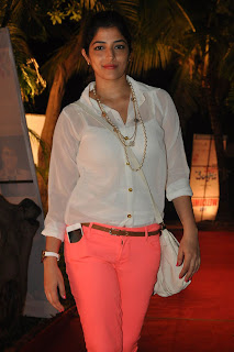 Nishanthi Evani Pictures in Jeans at Second Hand Telugu Movie Audio Launch