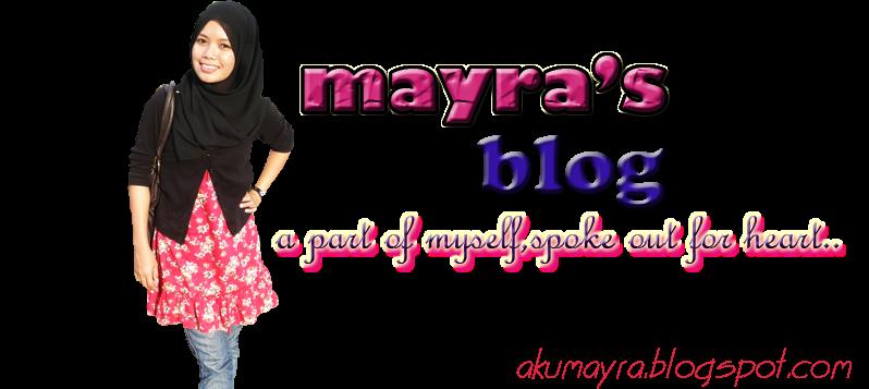 """"""" Mayra's Blog """""""