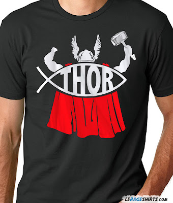 thor t-shirt from lerage shirts