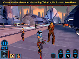 Star Wars: Knights of the Old Republic, iPad, iOS, Apple, BioWare, Aspyr Media