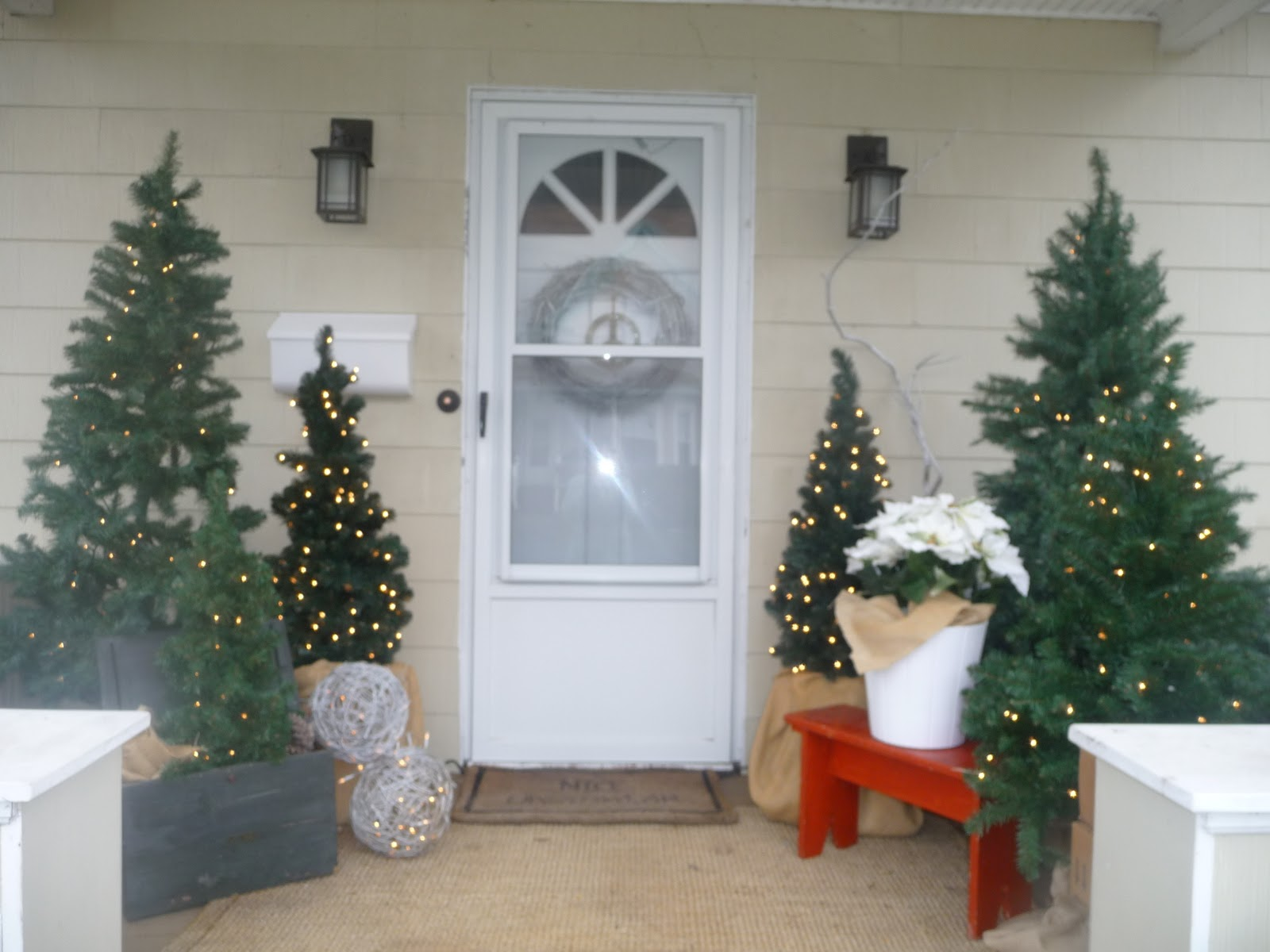 Rita Hurley Christmas Decorations Front Porch