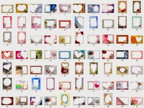 10. Kumpulan Frame Foto format PNG . Terdapat 100 Desain Bingkai Foto ...