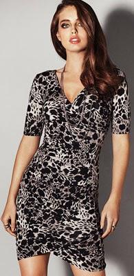 vestidos para vestir de noche con estampado leopardo H&M verano