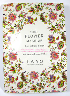 Labo Make-Up - Pure Flower Compact Eye-shadow Duo n.03 Olive green/Aqua green - Dépliant