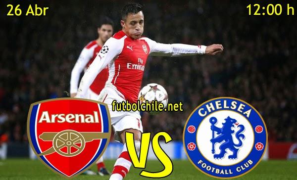 Arsenal vs Chelsea - Premiere League - 12:00 h - 26/04/2015