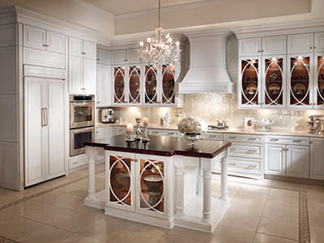 Kitchens With Chandeliers - Interior Design Decor