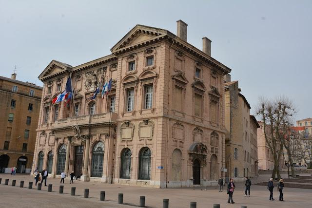 Vieux Port Marseille historical building