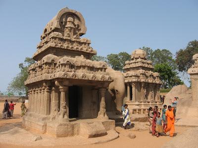 Nakula Sahadeva Ratha, Mahabalipuram