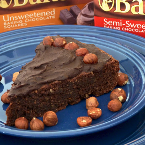 Chocolate Hazelnut Torte II (Flourless)