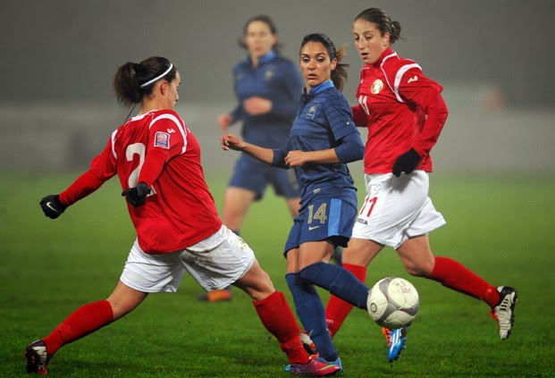 Louisa necib france la t te du groupe pour la qualification la coupe du monde 2015 - Qualification coupe du monde 2015 ...