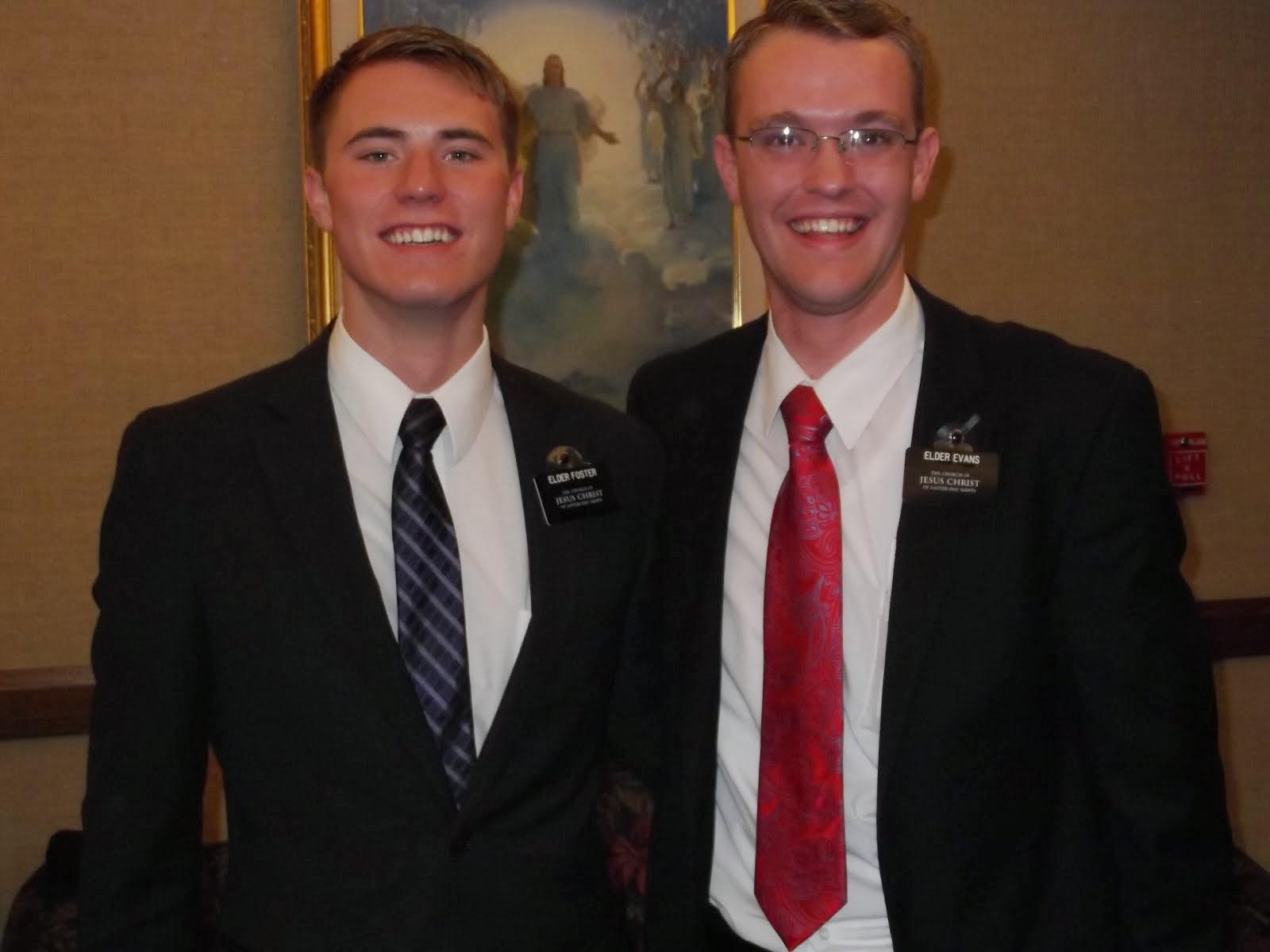 Elder Foster & Elder Evans