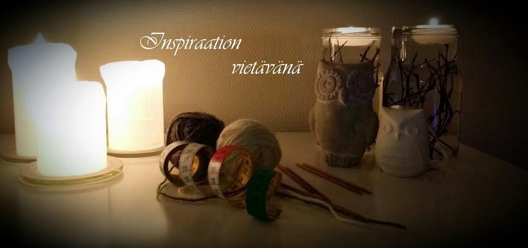 Inspiraation vietävänä