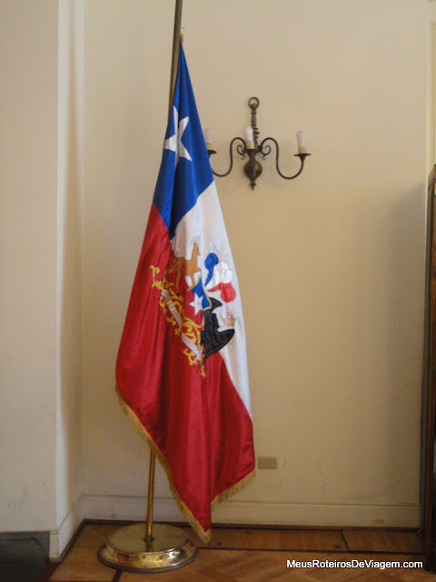 Antiga bandeira do Chile