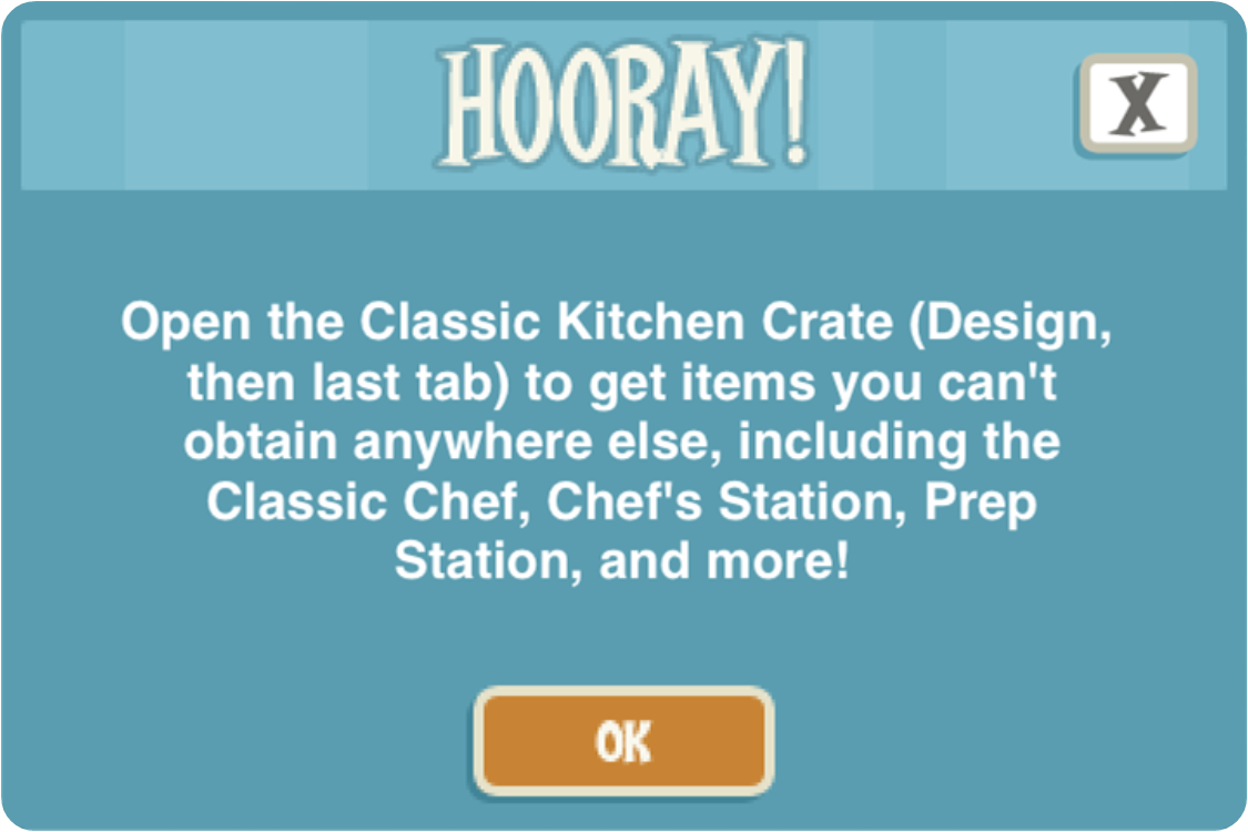 Restaurant Story Adventures: Game update: 17/09/14
