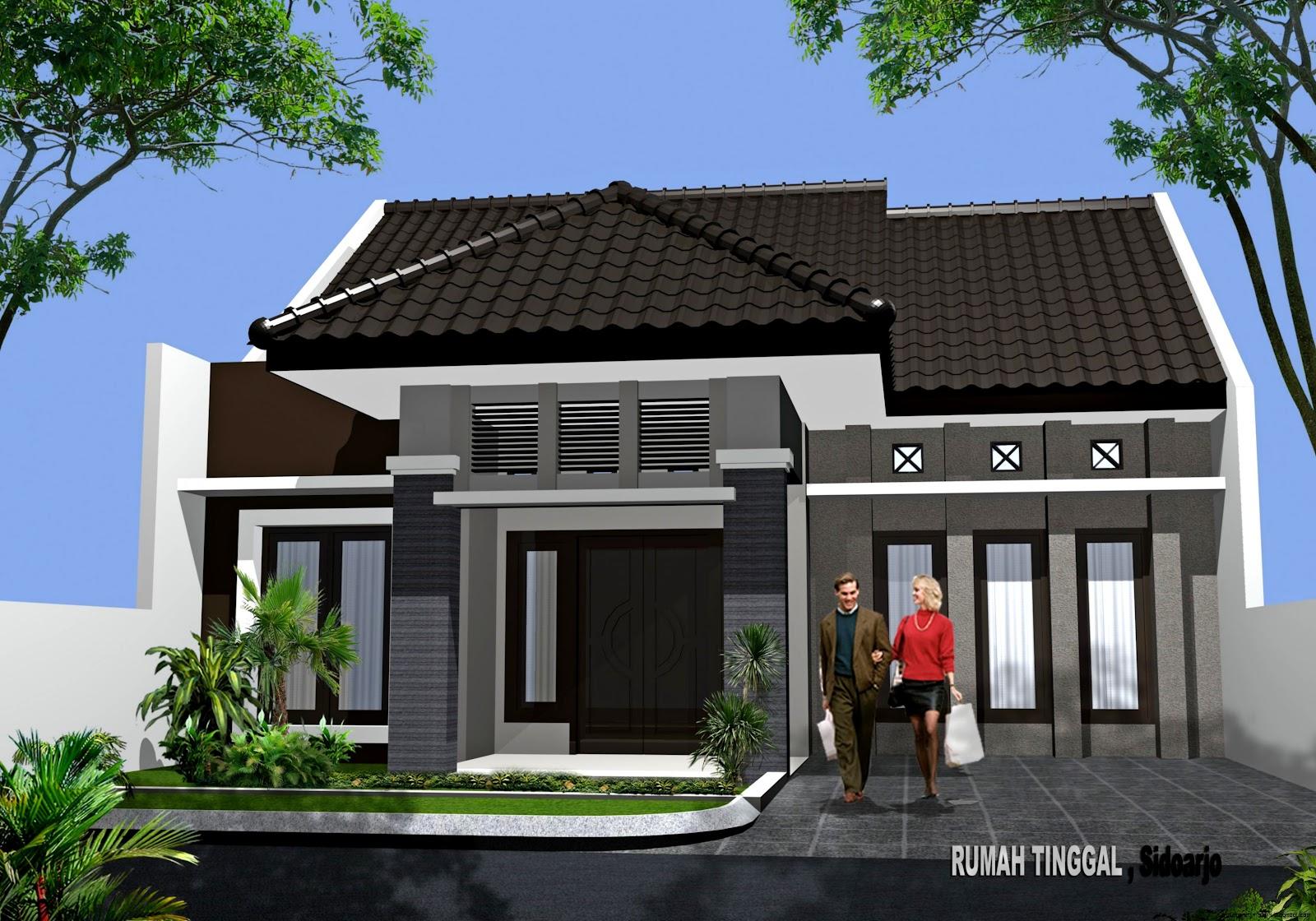 Contoh Rumah Minimalis 1 Lantai Type 36  Model Rumah Minimalis 2015