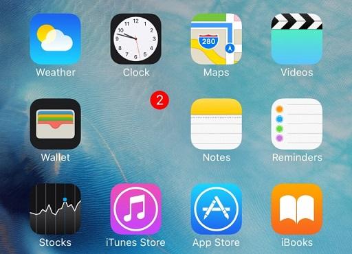 Как сделать папку на айфон 5s