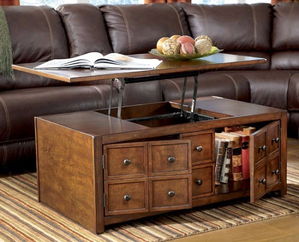 coffee table design ideas table with shelves give you more space