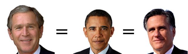 2012 US Elections: Obamney vs. Rombama  BushEqualsObamaEqualsRomney