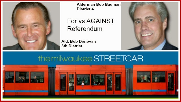Alderman Bob Donovan vs Alderman Bob Bauman