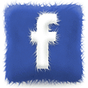 facebook pillow logo