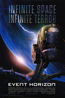 event horizon poster 1997 cover horizonte final