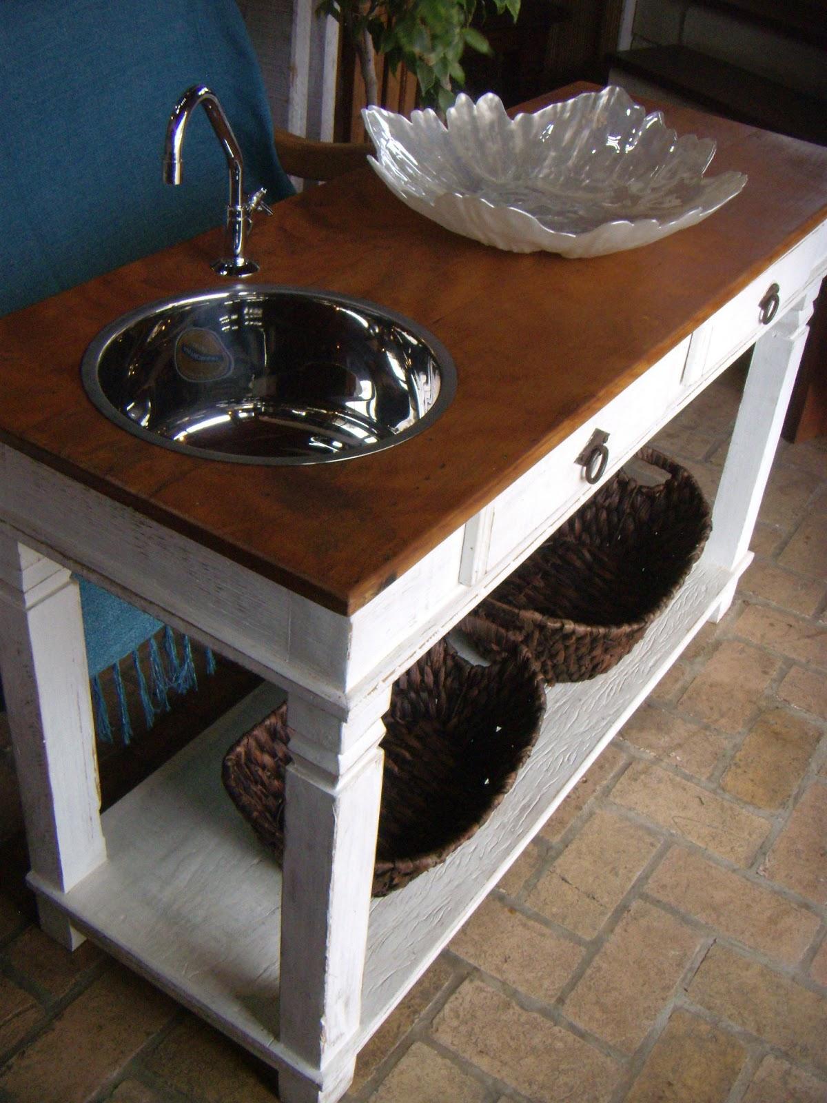 Roca móveis e decoração: Aparador com Cuba Inox Lounge Café. #264359 1200x1600