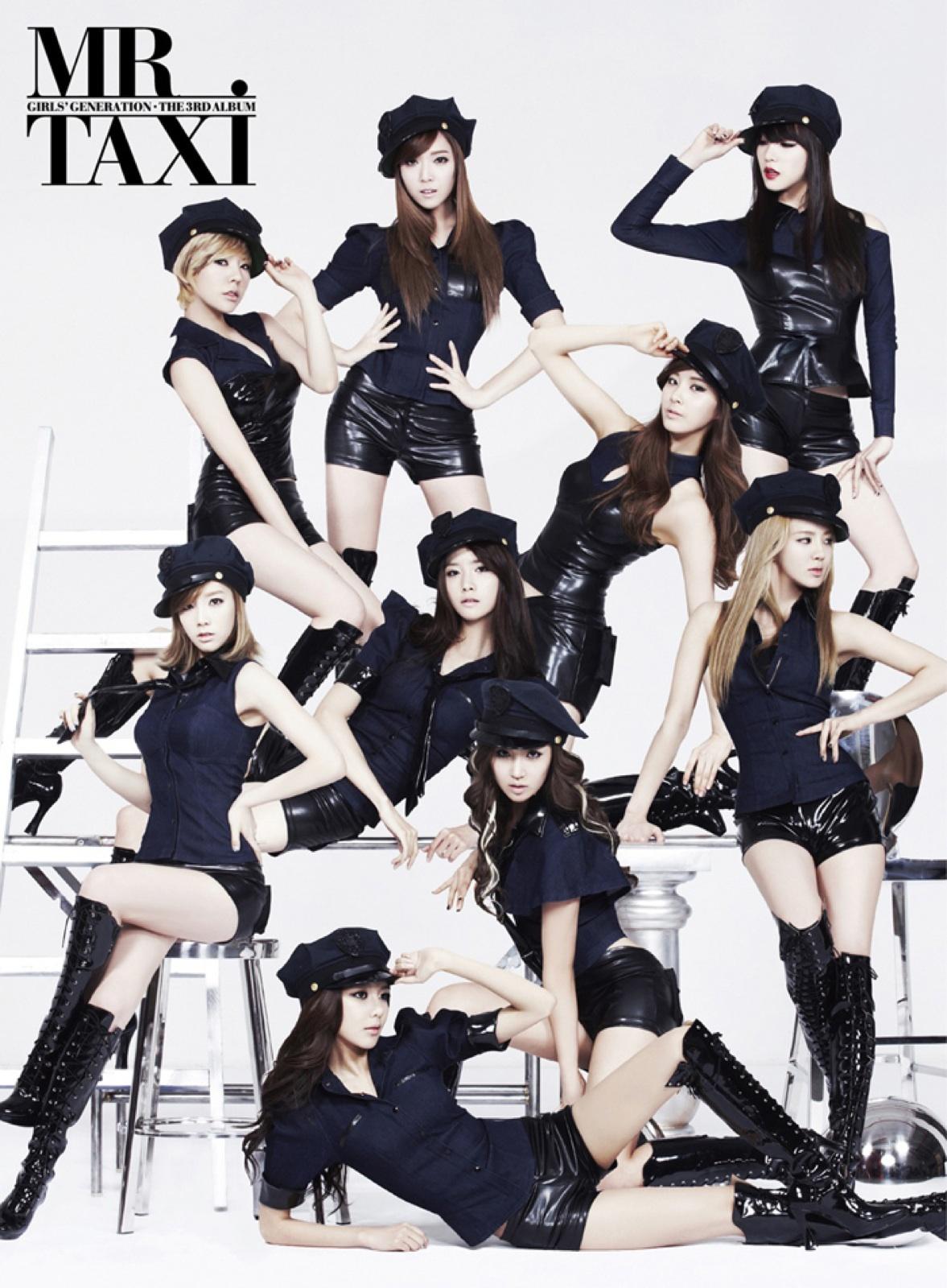 Girls Generation mr mr Album Cover Album Girls' Generation