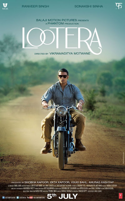 Ranveer Singh First Look Poster of  'Lootera'