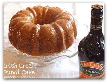 Indian Recipes. World Recipes. Healthy Recipes: Irish Cream Bundt Cake