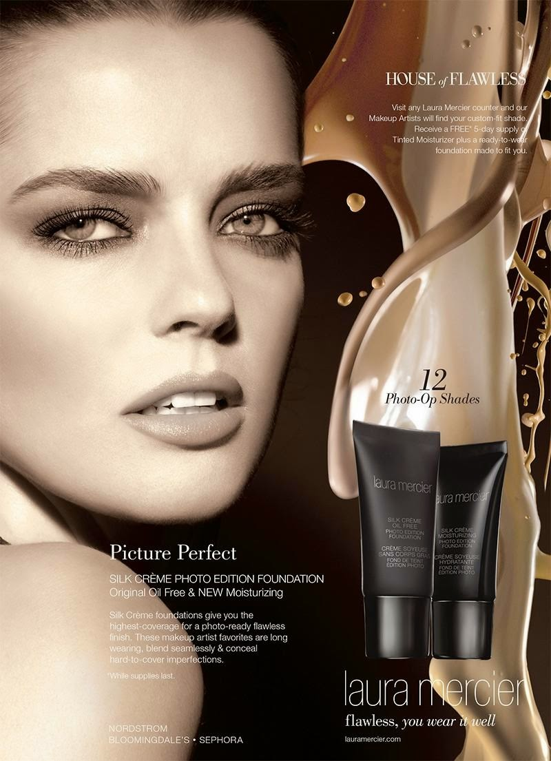 The Essentialist Fashion Advertising Updated Daily Laura Mercier Gieve Original Body Oil Ad Campaign Spring Summer 2015