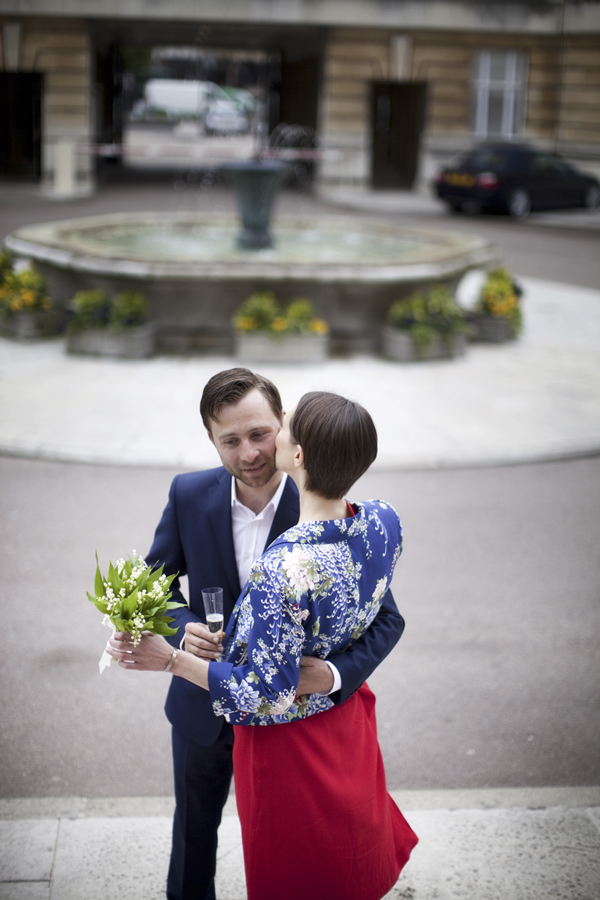 elopement London wedding