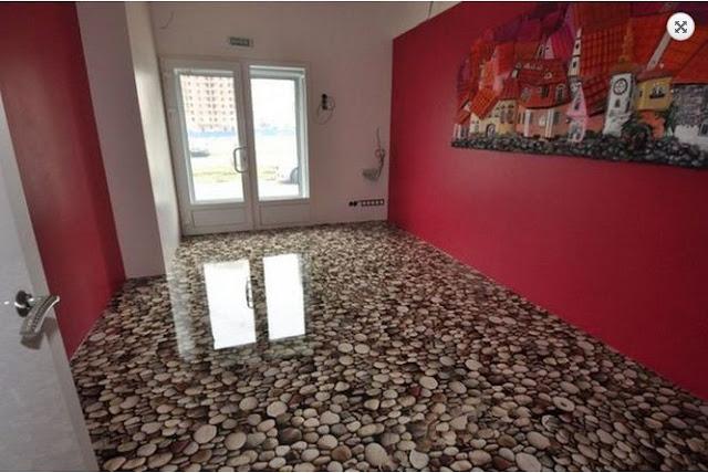 epoxy resin flooring designs, 3D floors