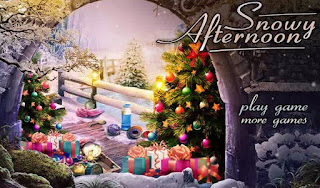 Play free Snowy Afternoon awesome mistery Hidden Object Online Games