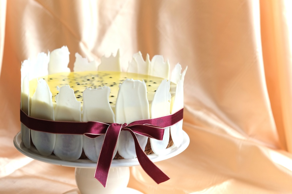 Yues Handicrafts Chocolate Passionfruit Mousse Cake