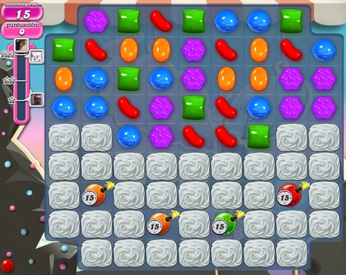 Nivel 96 de Candy Crush Saga
